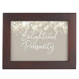 Enlightened Prosperity Keepsake Jewelry Box