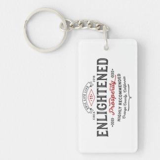 Enlightened Prosperity Keychain