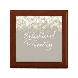 Enlightened Prosperity Wooden Box