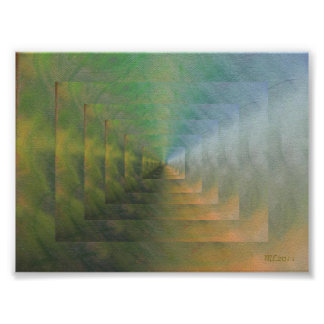 Enlightened Stairs Posters