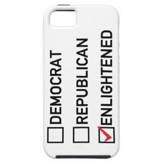 Enlightened Vote Tough iPhone 5 Case