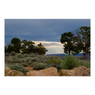 Enlightenment at Desert View 4934 Poster