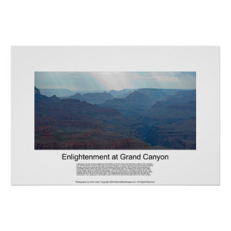 Enlightenment at Grand Canyon 4827 Print