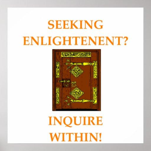 enlightenment print