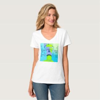 Enlightenment White T-Shirt. T-Shirt