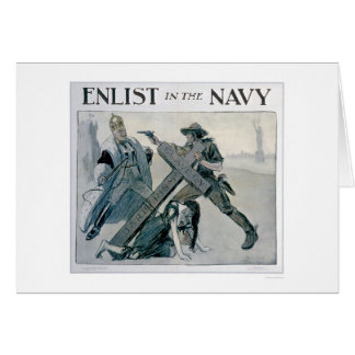 Enlist in the Navy (US02312) Greeting Card
