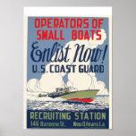 Enlist Now! U.S. Coast Guard Print