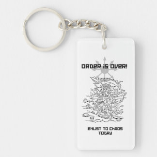 Enlist to Chaos Key Ring
