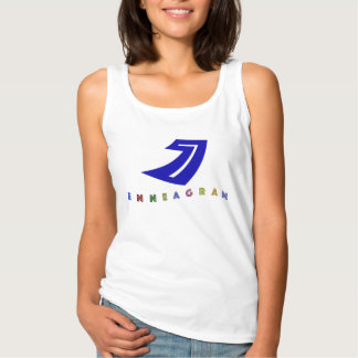 Enneagram 7 Type - The Enthusiast, Epicure Basic Tank Top