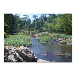 Eno River, North Carolina 13 Cm X 18 Cm Invitation Card