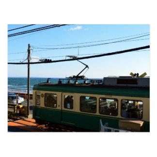 Enoshima Electric Railway (Enoden): Japan Postcard