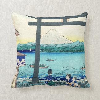 Enoshima Gateway Sagami 1858 Cushion