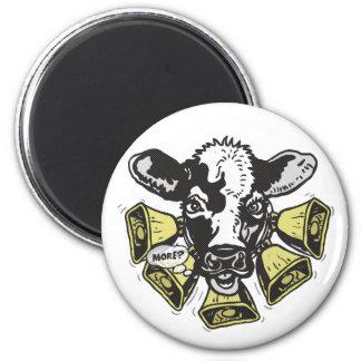 Enough Cowbell Big Dot 6 Cm Round Magnet
