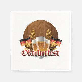Enough For All Oktoberfest Party Paper Napkins Disposable Serviette