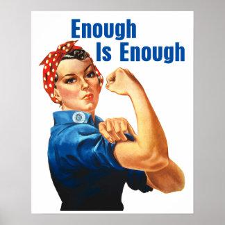 Enough Is Enough Poster