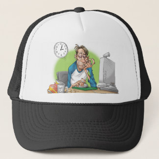 Enough sleep trucker hat