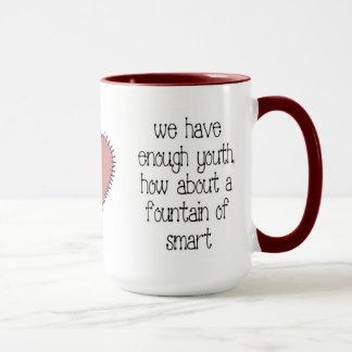 Enough Youth Coffee Mug