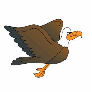 Enrick Eagle Standing Photo Sculpture