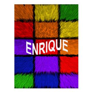 ENRIQUE POSTCARD