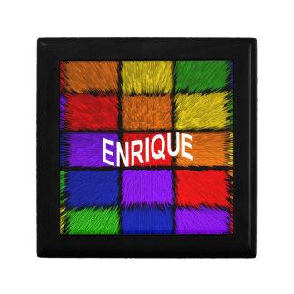 ENRIQUE SMALL SQUARE GIFT BOX