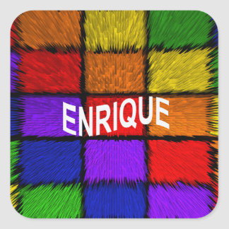 ENRIQUE SQUARE STICKER