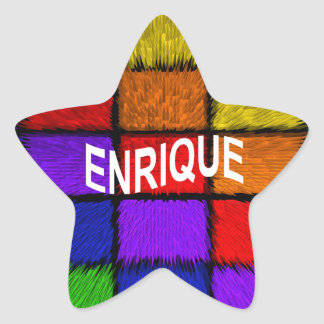 ENRIQUE STAR STICKER