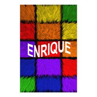 ENRIQUE STATIONERY