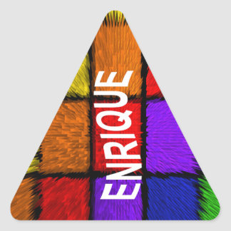ENRIQUE TRIANGLE STICKER