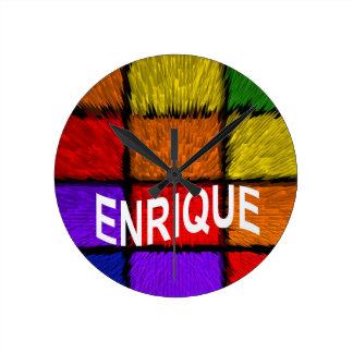 ENRIQUE WALLCLOCK
