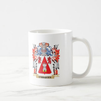 Enriques Coat of Arms - Family Crest Coffee Mug