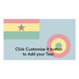 Ensign Of The Ghana Air Force, Germany flag Pack Of Standard Business Cards