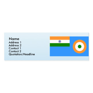 Ensign the Indian Air Force, India Pack Of Skinny Business Cards