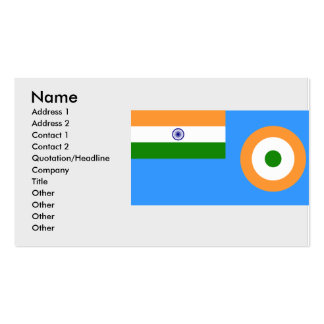Ensign the Indian Air Force, India Pack Of Standard Business Cards