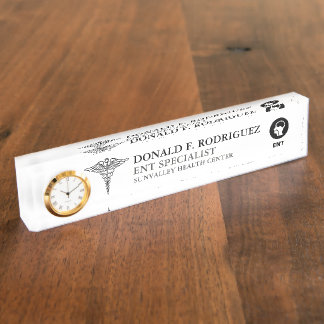 ENT doctors | Otolaryngologists Personalized Name Plate