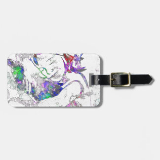 entangle in its magical spell luggage tag