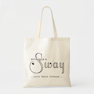 Entangle & Sway Logo Tote Budget Tote Bag