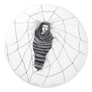 """Entangled"" Ceramic Knob"