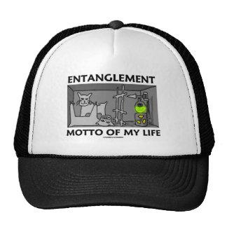 Entanglement Motto Of My Life (Quantum Physics) Cap