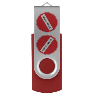 enter at own risk USB stick USB Flash Drive