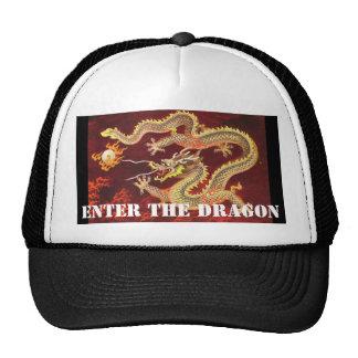 Enter the Dragon Chinese Dragon Baseball Hat