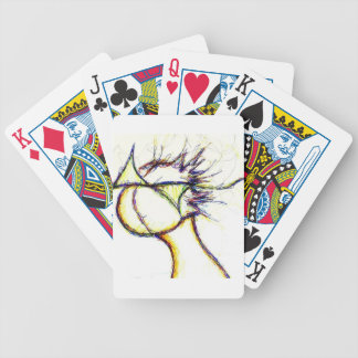 Enter the Fire Mind by: Luminosity Bicycle Playing Cards