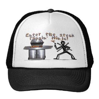 Enter the Steak Flippin' Ninja Mesh Hats