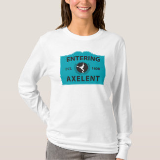 Entering Axelent Ice Skating T-Shirt