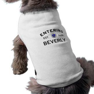 Entering Beverly Sleeveless Dog Shirt