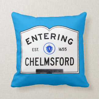 Entering Chelmsford Cushion