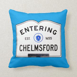 Entering Chelmsford Throw Pillow
