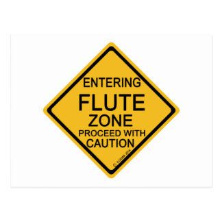 Entering Flute Zone Postcard