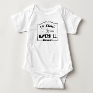 Entering Haverhill Baby Bodysuit