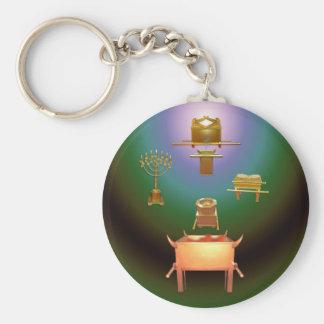 Entering His Presence Key Ring