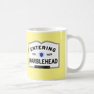 Entering Marblehead Coffee Mug